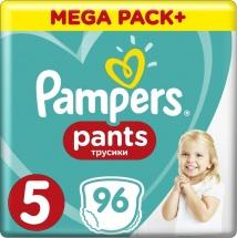 Трусики Pampers 5 (12-17 кг) 96 шт