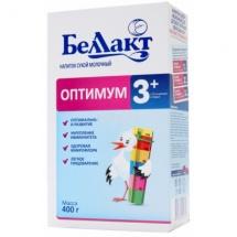 """Сухая молочная смесь """"Оптимум 3+"""", с 12 мес., 400гр., Беллакт"""