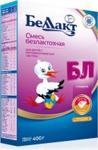 Сухая смесь Беллакт Безлактозный с 0 до 12 мес 400 г