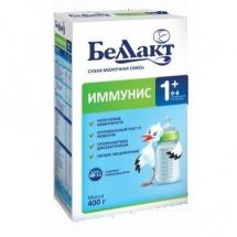 """Сухая молочная смесь """"Иммунис 1+"""", с 0 до 6 мес., 400гр., Беллакт"""