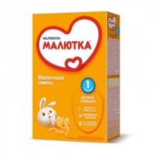 """Сухая молочная смесь """"Малютка №1"""", с рождения, 350г., Nutricia"""