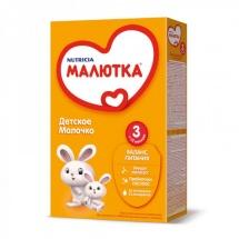 """Сухая молочная смесь """"Малютка №3"""", с 12 мес., 350гр., Nutricia"""