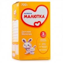 """Сухая молочная смесь """"Малютка №3"""", с 12 мес., 700гр., Nutricia"""