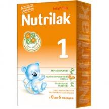 """Сухая молочная смесь """"Нутрилак"""", с 0 до 6 мес., 350гр., Nutrilak"""