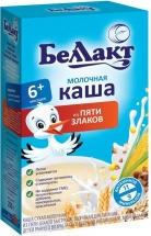 Каша Беллакт молочная 5 злаков с 6 мес 250 г