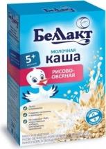 Каша молочная рисово-овсяная, с 5 мес., 250 гр., Беллакт