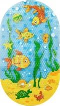 """Коврик для ванны Valiant """"Подводный мир"""" 69х39 см"""