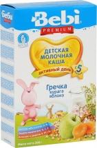 Каша молочная гречка-курага-яблоко, Premium, c 5 мес., 200гр., Bebi