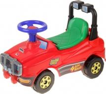 Машинка-каталка Полесье Джип (без гудка) красный