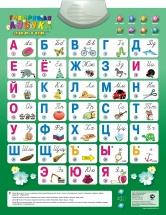 Электронный плакат Знаток Говорящая азбука, 8 режимов