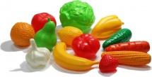 Набор Нордпласт Фрукты и овощи 13 элементов