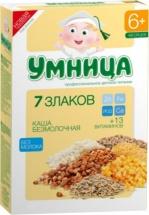 Каша Умница безмолочная 7 злаков с 7 мес 200 г