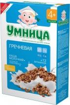 Каша молочная гречневая, с 4 мес., 200гр., Умница