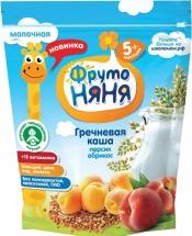 Каша Фрутоняня молочная гречневая с персиком и абрикосом с 5 мес 200 г