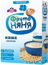 Каша молочная овсяная, с 5мес., 200гр., ФрутоНяня