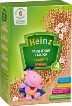 Каша Heinz безмолочная гречневая с Омега-3 с 4 мес 200 г