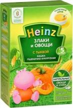 Каша Heinz безмолочная пшенично-кукурузная с тыквой с 5 мес 200 г