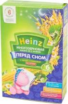 Каша безмолочная многозерновая 3 злака с липой и ромашкой, с 6 мес., 200гр., Heinz