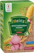 Каша Heinz безмолочная многозерновая с 6 мес 200 г