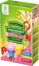 Каша многозерновая йогурт-банан-клубника, Любопышки, с 12 мес., 200гр., Heinz
