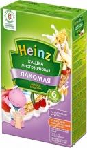 Каша Heinz Лакомая молочная многозерновая с яблоком и вишенкой с 6 мес 200 г