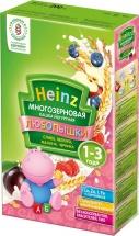 Каша Многозерновая йогурт-слива-яблоко-малина-черника, Любопышки, с 12 мес., 200гр., Heinz