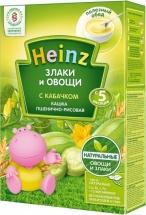 Каша рисово-пшеничная с кабачками, Злаки и Овощи, с 5 мес., 200 гр., Heinz