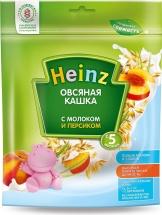 Каша Heinz молочная овсяная с персиком с 5 мес 250 г
