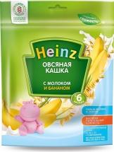 Каша Heinz молочная овсяная с бананом с 6 мес 250 г