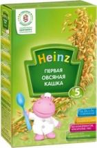 Каша Heinz безмолочная Первая овсяная с 5 мес 180 г