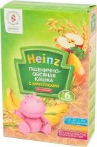 Каша безмолочная пшенично-овсяная с фруктами, с 6 мес., 200гр., Heinz