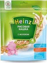 Каша молочная рисовая, с 4 мес., 250гр., Heinz
