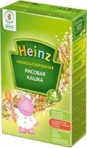 Каша безмолочная Рисовая низкоаллергенная, с 4 мес., 160гр., Heinz
