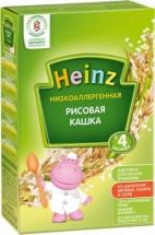 Каша Heinz безмолочная рисовая с 4 мес 160 г