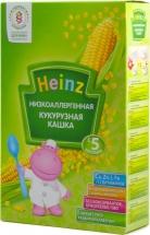 Каша безмолочная кукурузная низкоаллергенная, с 5 мес., 200гр., Heinz