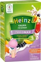 Каша Heinz Лакомая молочная гречневая грушка-абрикос-смородинка с 5 мес 200 г