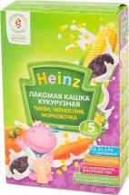 """Каша лакомая """"Кукурузная тыква- чернослив- морковь"""", с 5 мес., 200гр., Heinz"""