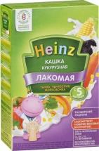 Каша Heinz Лакомая молочная кукурузная тыква-чернослив-морковь с 5 мес 200 г