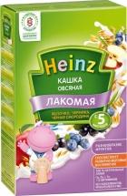 Каша Heinz Лакомая молочная овсяная яблоко-черника-черная смородина с 5 мес 200 г