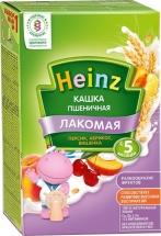 Каша Heinz Лакомая молочная пшеничная абрикос-персик-вишенка с 5 мес 200 г