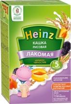 Каша Heinz Лакомая молочная рисовая с абрикосом и черносливом с 5 мес 200 г