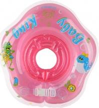 Круг на шею Baby Krug 3D розовый 6-18 кг
