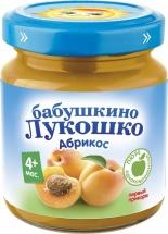 Пюре Бабушкино лукошко Абрикос с 4 мес 100 г