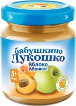 Пюре Бабушкино лукошко Абрикос-Яблоко с 5 мес 100 г