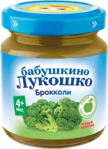 Пюре Бабушкино лукошко Брокколи с 4 мес 100 г