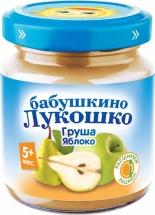 Пюре Бабушкино лукошко Груша-Яблоко с 5 мес 100 г