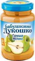 Пюре Бабушкино лукошко Груша-Яблоко с 5 мес 200 г