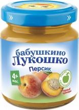 Пюре Бабушкино лукошко Персик с 4 мес 100 г