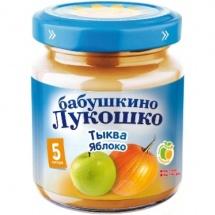 Пюре Бабушкино лукошко Тыква-Яблоко с 5 мес 100 г