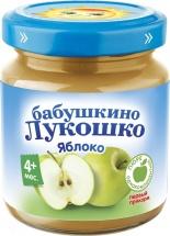 Пюре Бабушкино лукошко Яблоко с 4 мес 100 г